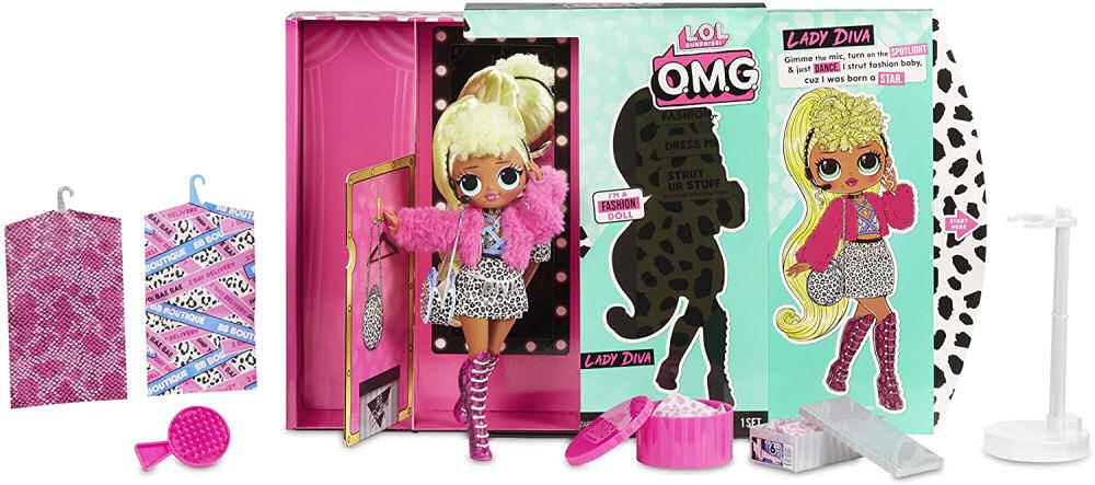 L.O.L Surprise O.M.G. Lady Diva Doll