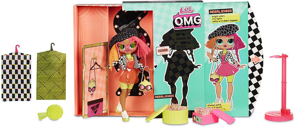 L.O.L Surprise! OMG Doll Neonlicious