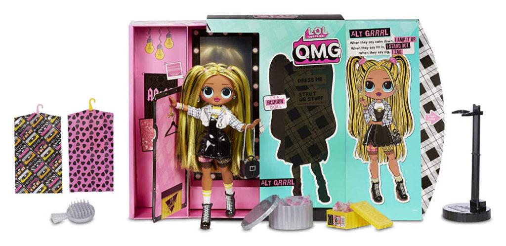L.O.L. Surprise! O.M.G. Alt Grrrl Fashion Doll with 20 Surprises