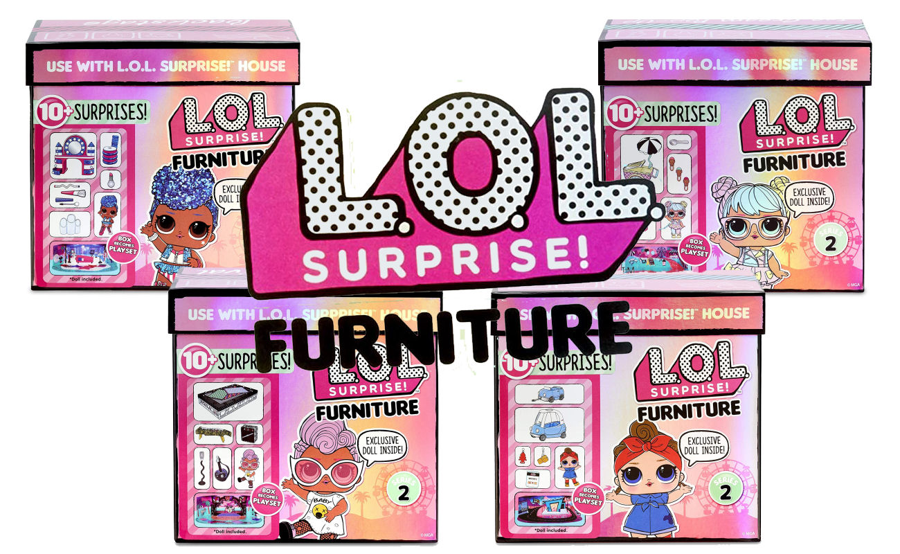 L.O.L. Surprise! Furniture with Doll Series 2