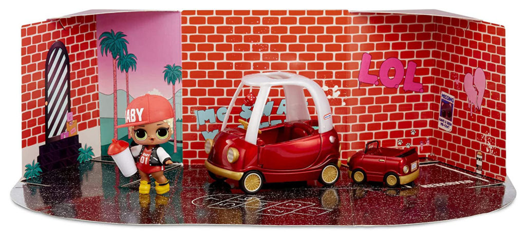 LOL Surprise Furniture Cozy Coupe with M.C. Swag