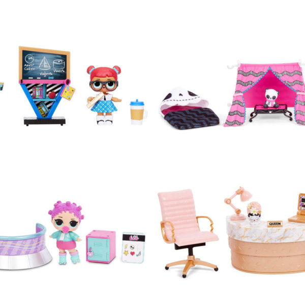 L.O.L. Surprise! Furniture Sets with Doll Series 3