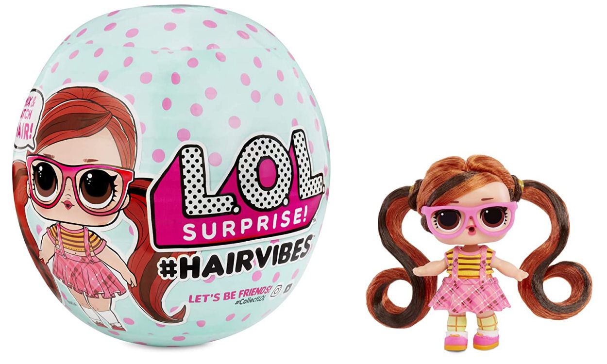 LOL Surprise Hairvibes Doll with 15 Surprises