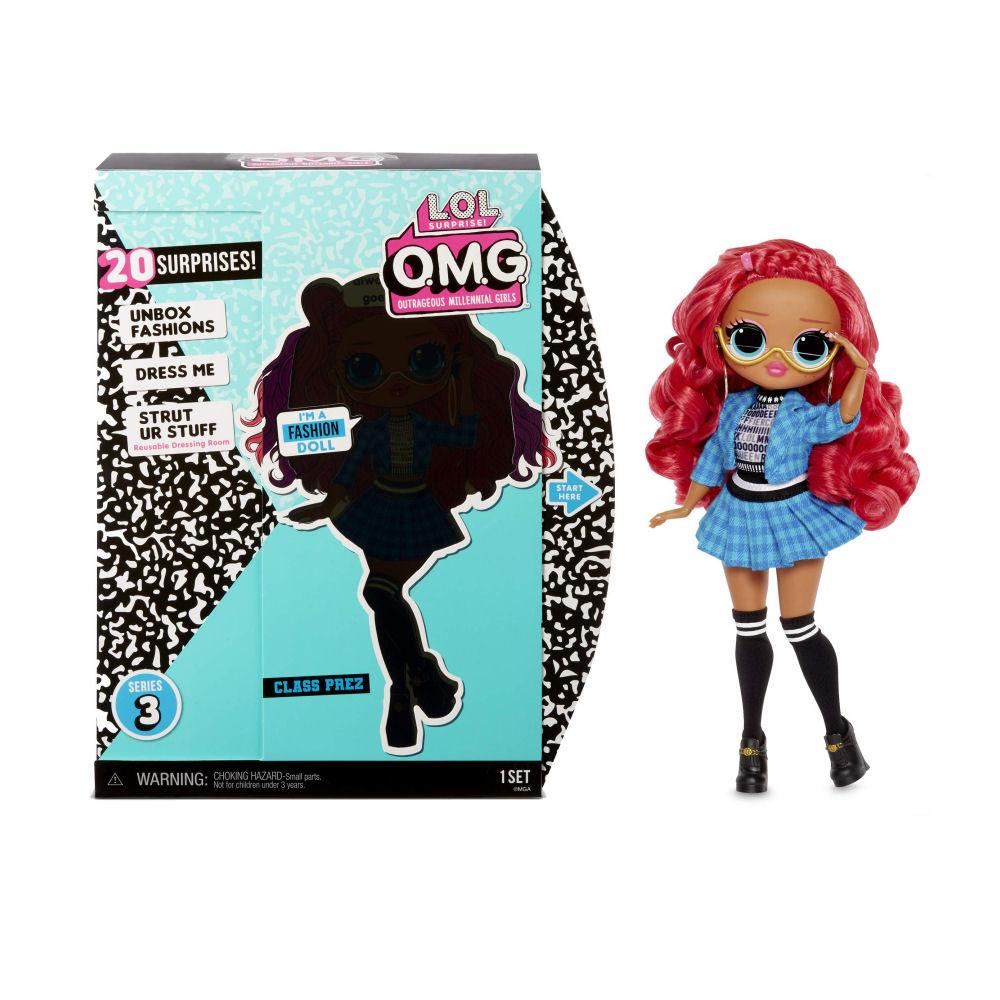 L.O.L. Surprise! O.M.G. Class Prez Doll
