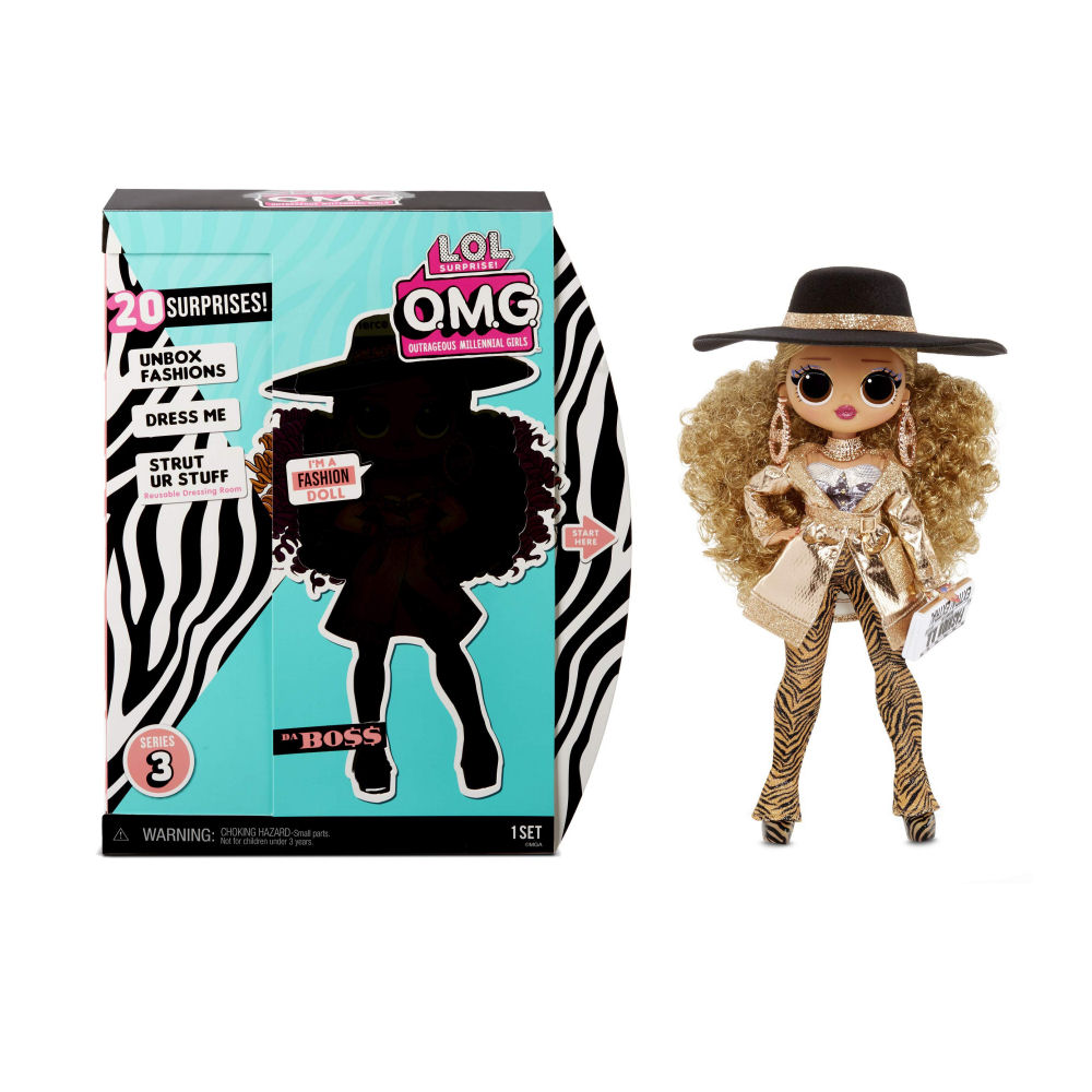 L.O.L. Surprise! O.M.G. Da Boss Doll