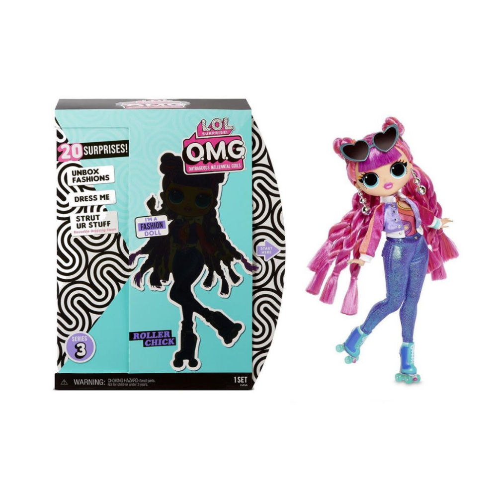 L.O.L. Surprise! O.M.G. Roller Chick Doll