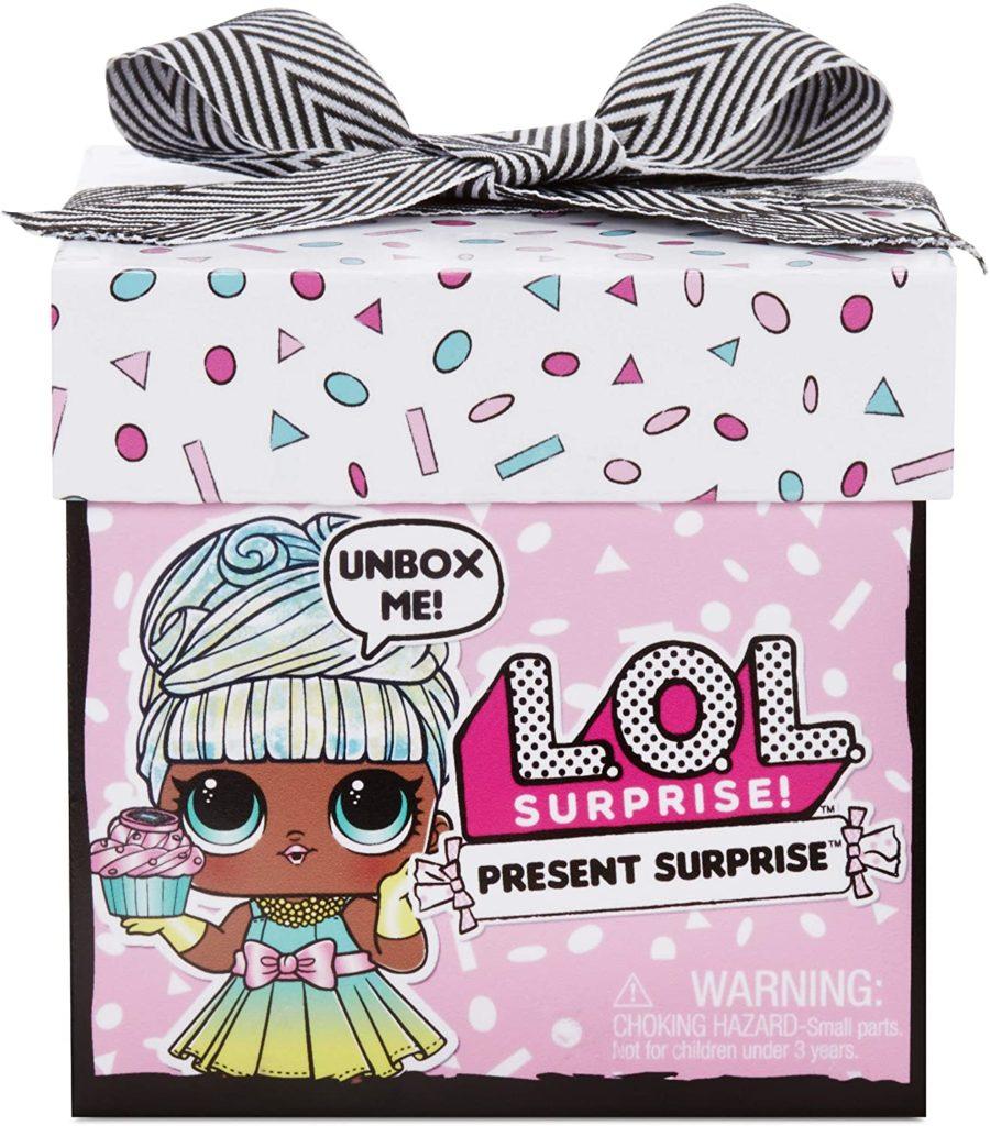 L.O.L. Surprise Present Surprise Doll with 8 Surprises