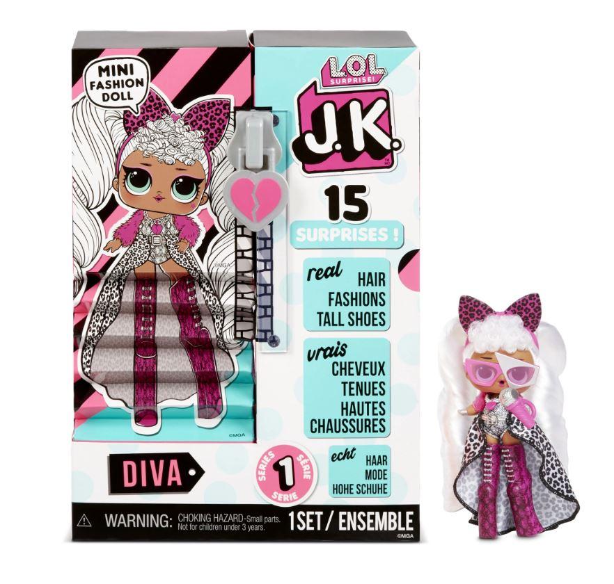 L.O.L. Surprise! J.K. Mini Fashion Doll Diva