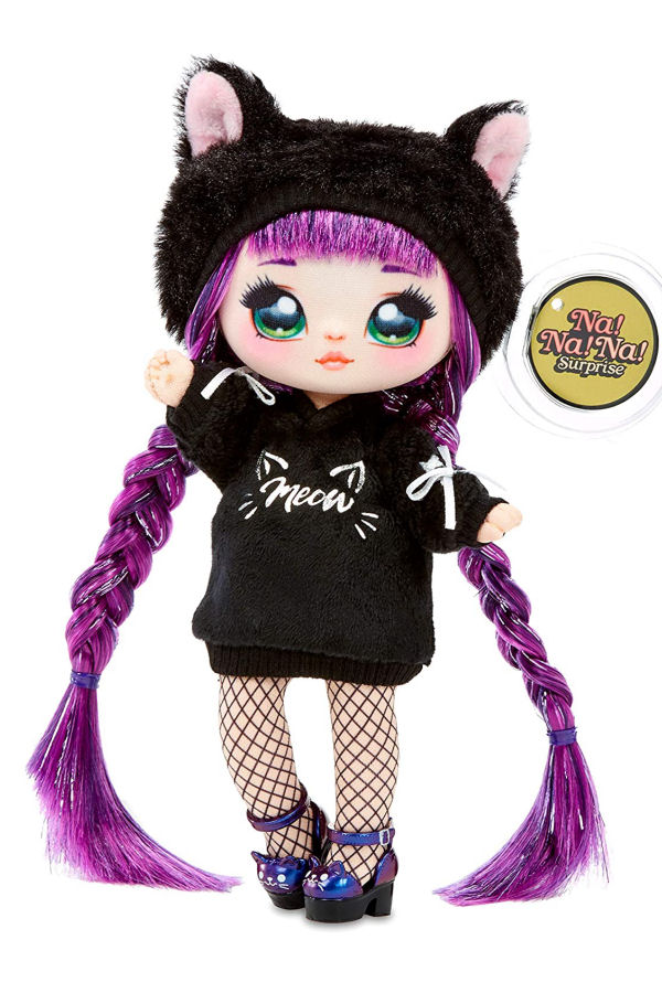 Na Na Na Surprise Backpack Bedroom Doll Black