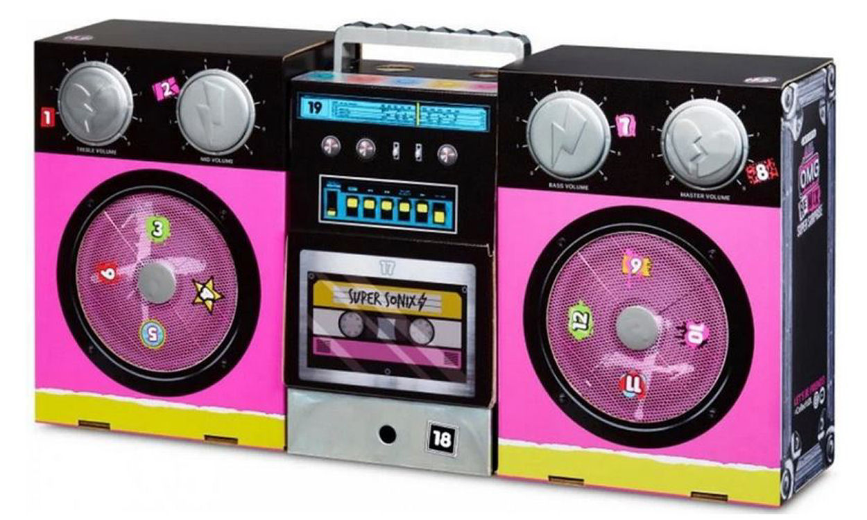 L.O.L. Surprise O.M.G. Remix Super Surprise Boombox