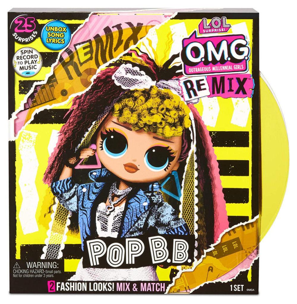 L.O.L Surprise! O.M.G. Remix Pop B.B. Fashion Doll Box Front Cover