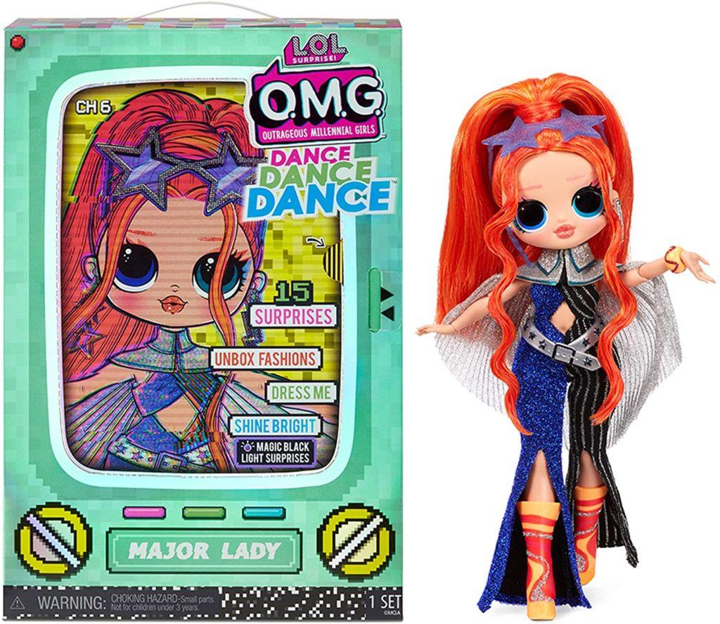 LOL Surprise OMG Dance Dance Dance Major Lady Doll