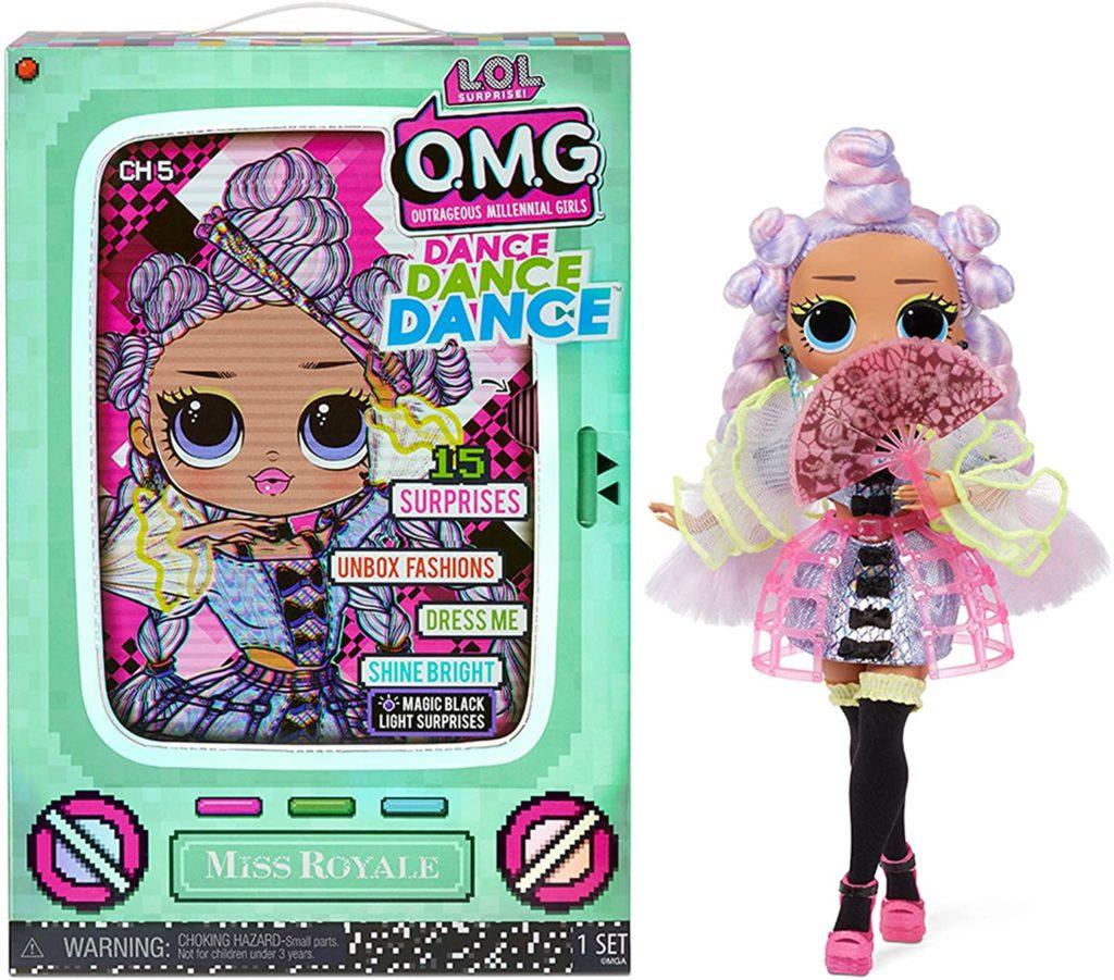 LOL Surprise OMG Dance Dance Dance Miss Royale Doll